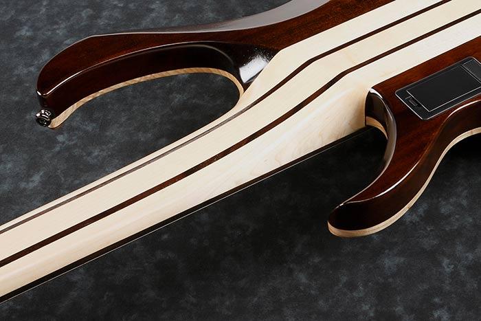 5pc Maple/Walnut neck with Graphite reinforcement rods