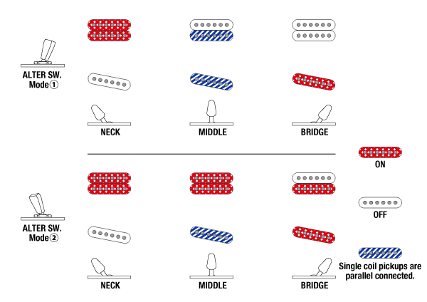 AZS2200's Switching system diagram