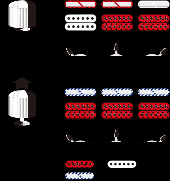 Diagrama del sistema de conmutación de RG60ALS
