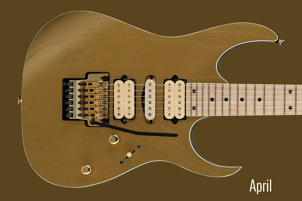 GUITAR OF THE MONTH April