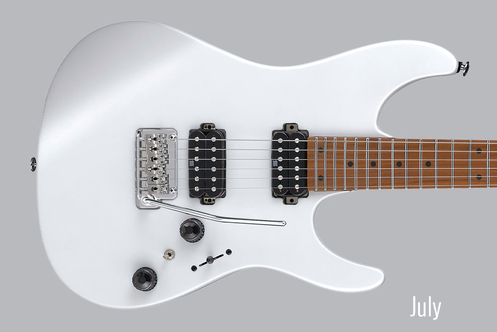 GUITAR OF THE MONTH July