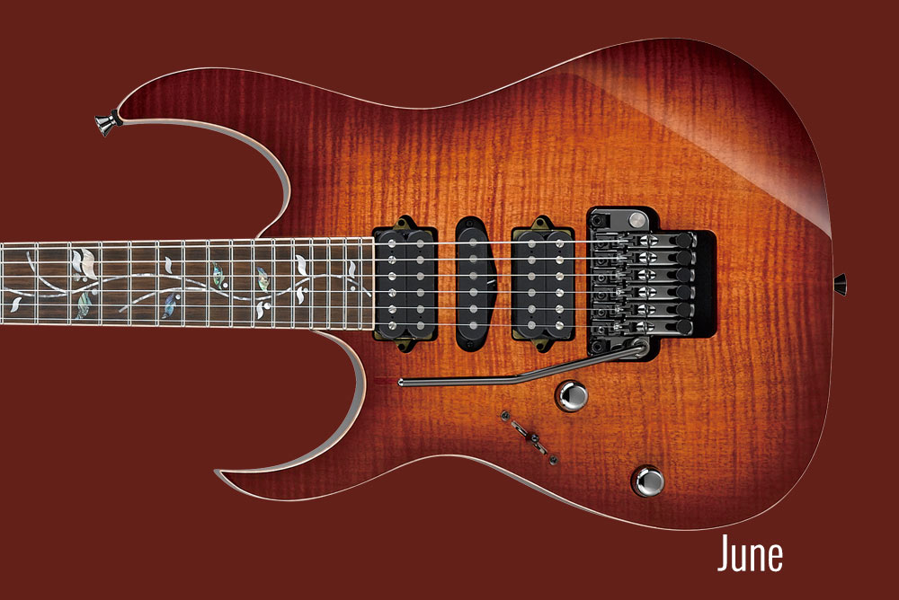 GUITAR OF THE MONTH June