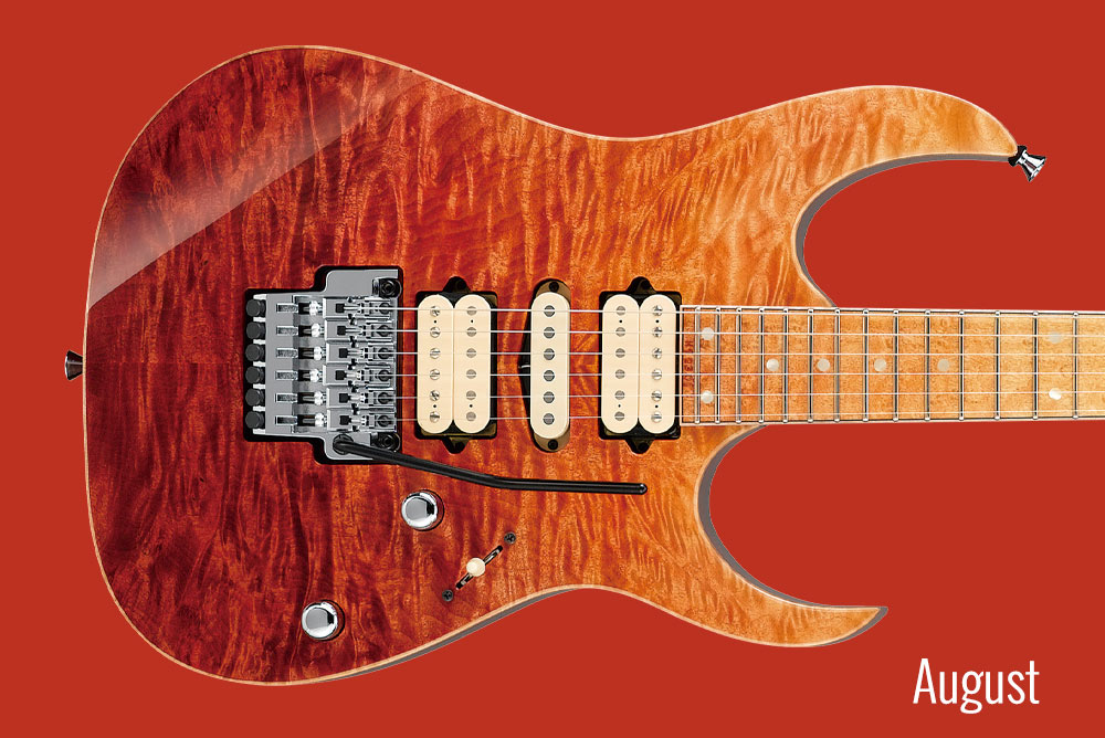 GUITAR OF THE MONTH August