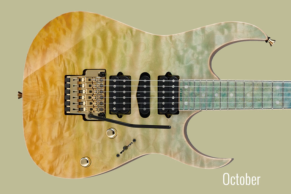 GUITAR OF THE MONTH October