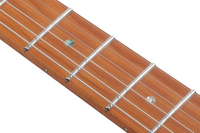 S-TECH WOOD Roasted Maple fretboard w/Abalone dot inlay