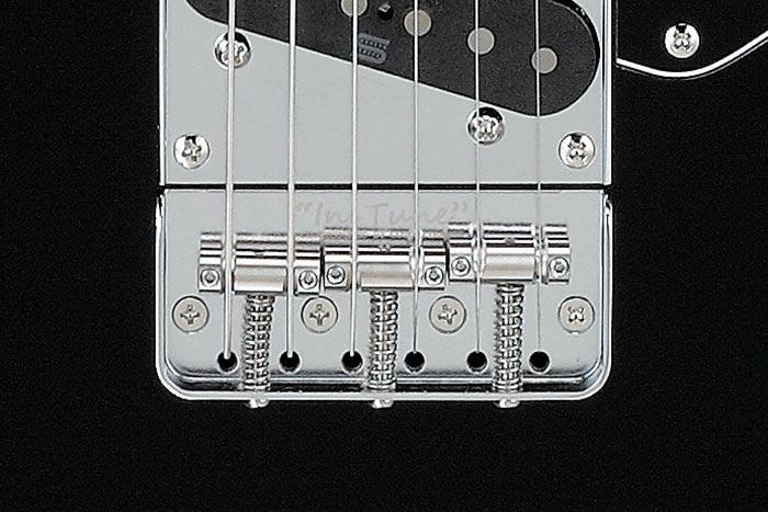 "Gotoh®/Ibanez co-designed ""In-Tune"" saddles"