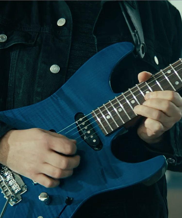 Supercharged Electric Az: Ibanez Guitars