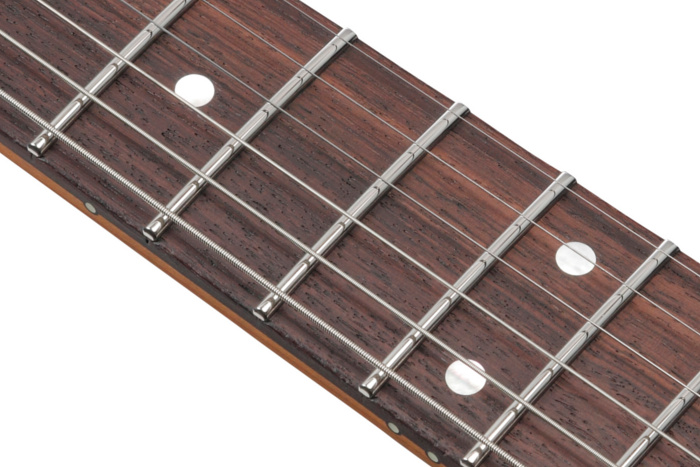 Rosewood fretboard with Stainless Frets