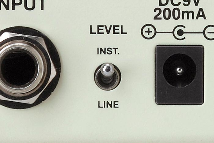 Instrument/Line Level Switch