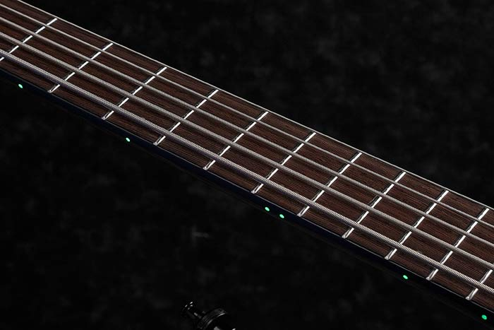 Luminescent side dot inlays