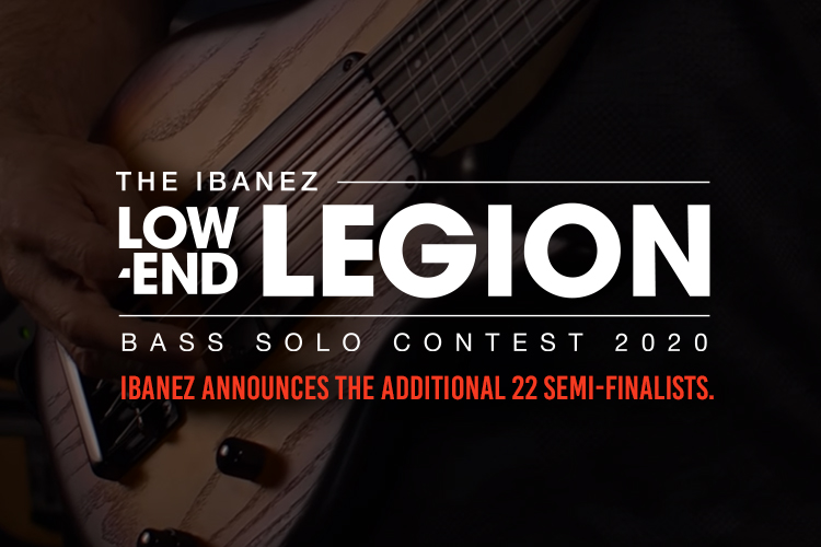 The Ibanez Low-End Legion Bass Solo Contest