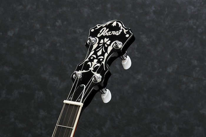B300 Special headstock inlay