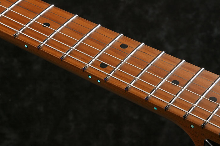 Luminlay side dot inlays