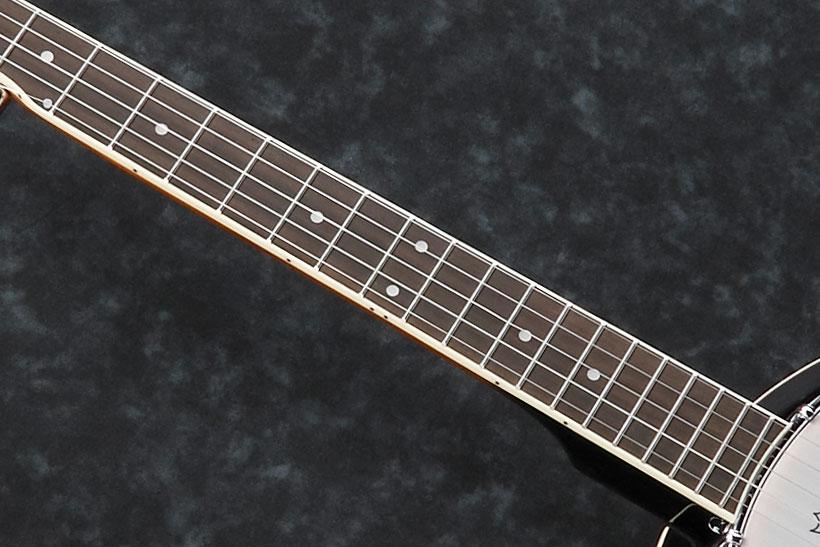 Purpleheart fretboard