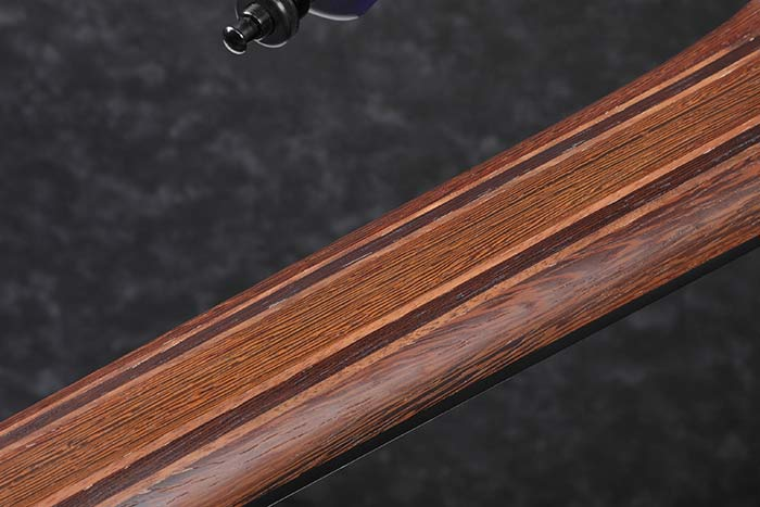 9pc Panga Panga/Walnut neck w/Graphite reinforcement rods