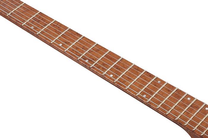 Roasted Birdseye Maple fretboard