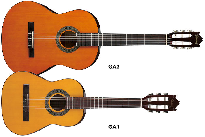1/2 size classical guitar (530mm scale length, 43mm width nut)