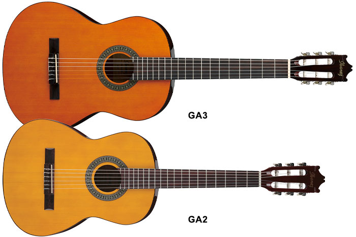 3/4 size classical guitar (580mm scale length, 45.5mm width nut)