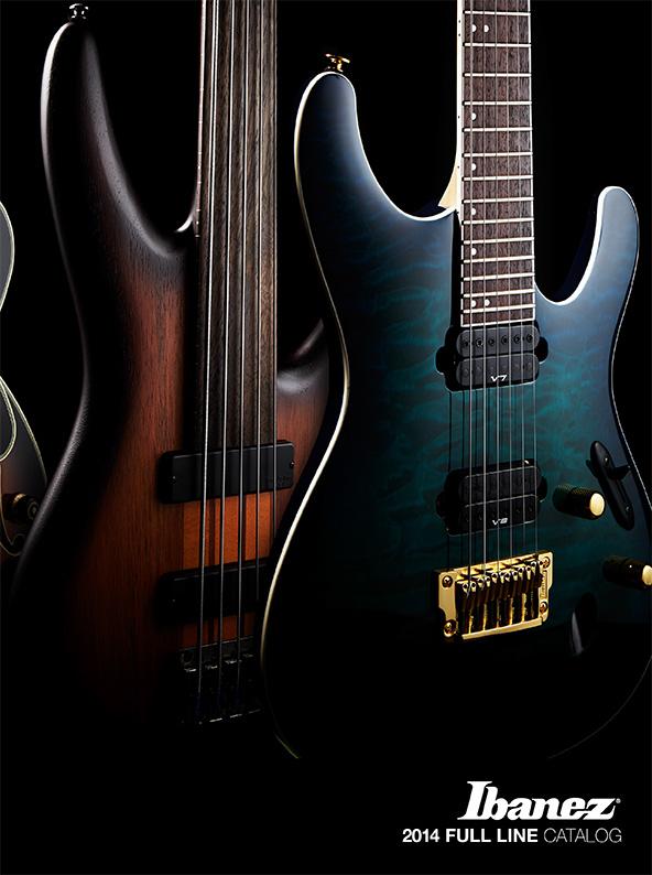 Ibanez CATALOGS   SUPPORT   Ibanez guitars