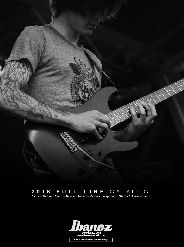 Ibanez CATALOGS | SUPPORT | Ibanez guitars on