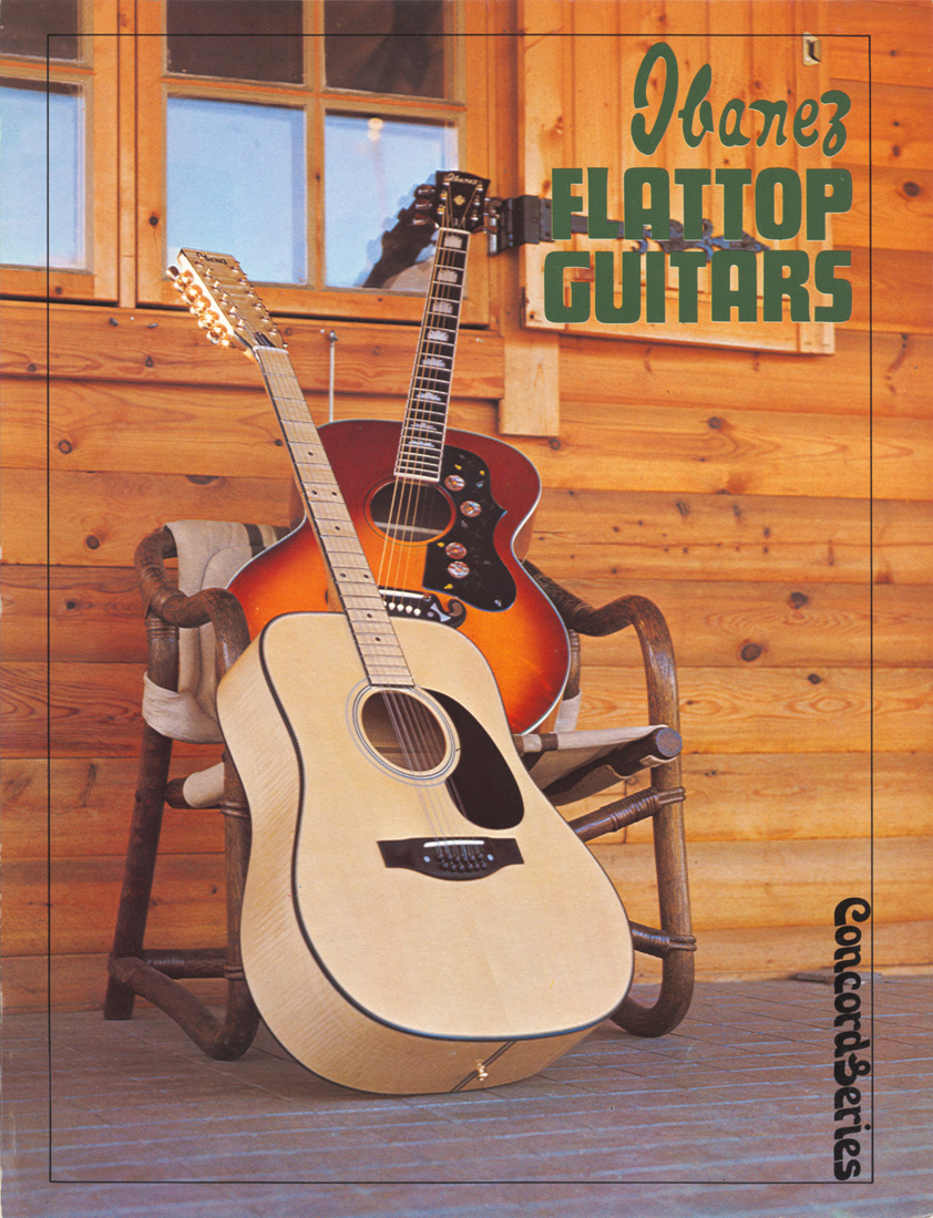 1976 Flattop Guitars Concord Series
