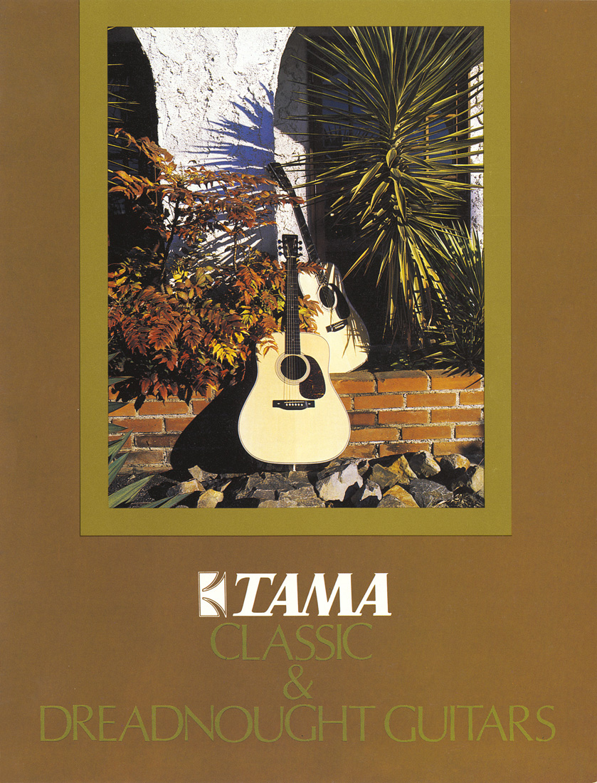 1976 TAMA Classic & Dreadnought Guitars