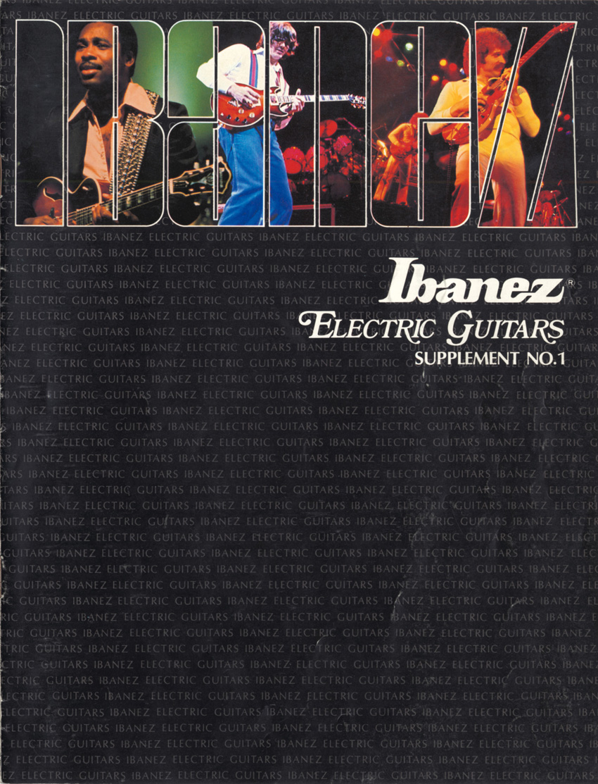 1979 Ibanez Electric Guitars Supplement No.1