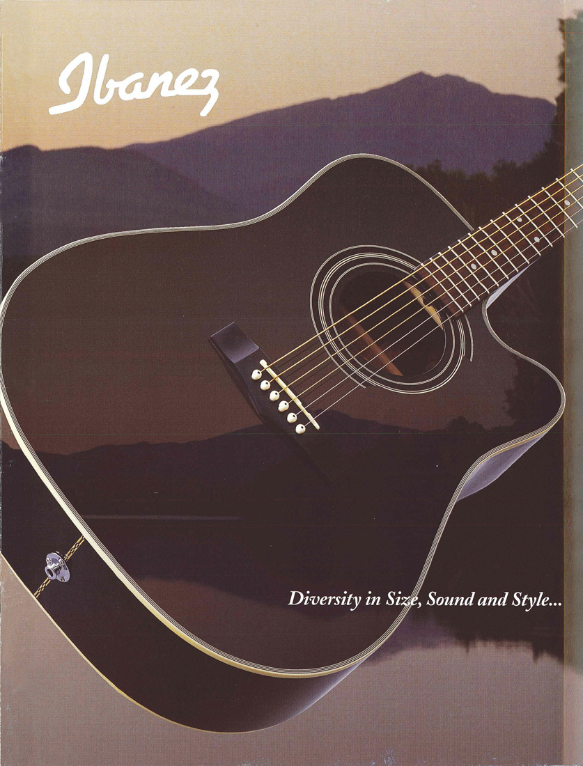 1998 Acoustic Guitar Catalog for USA