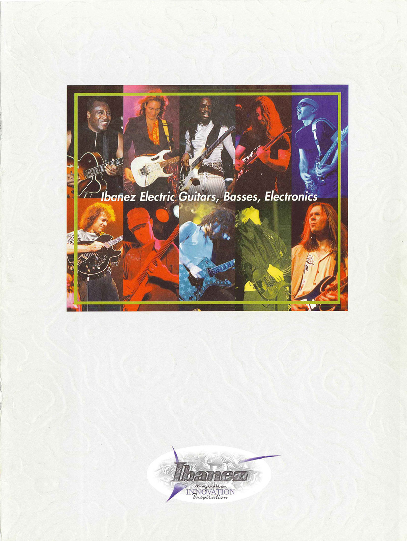 1998 Electric Guitar Catalog for USA