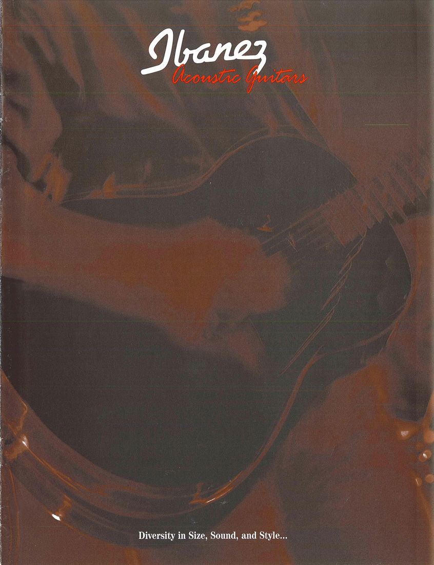 1999 Acoustic Guitar Catalog for USA