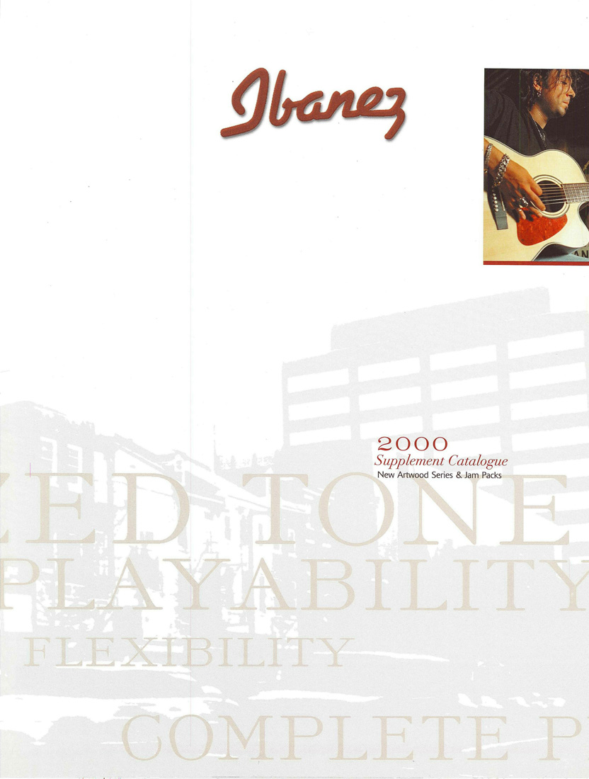2000 Acoustic Guitar Supplememt Catalog for USA