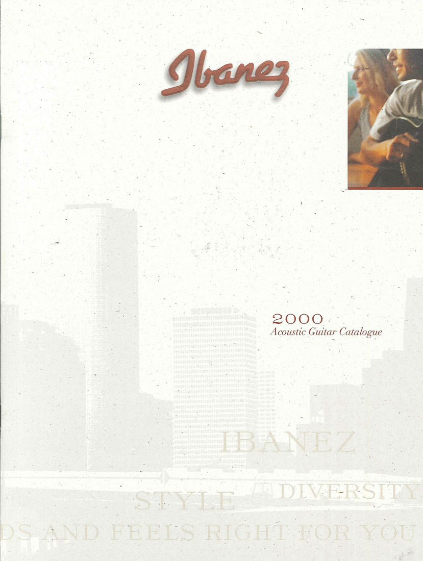 2000 Acoustic Guitar Catalog for USA