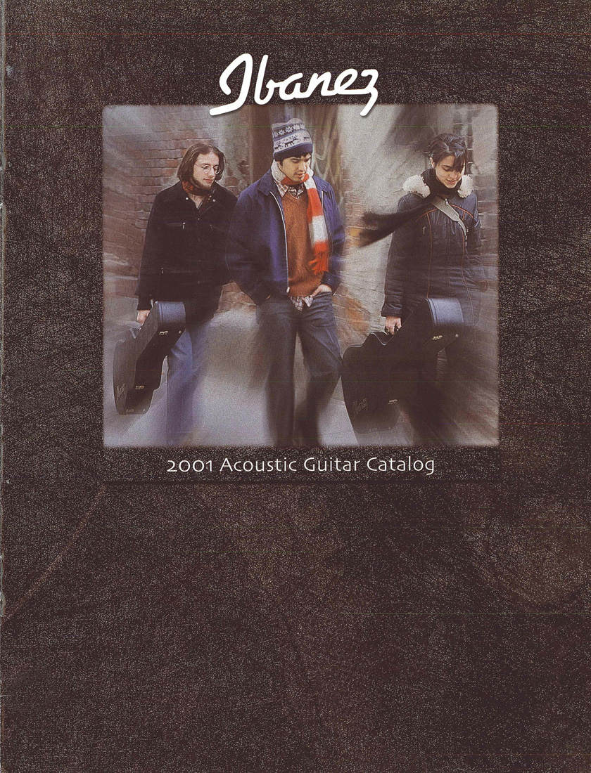 2001 Acoustic Guitar Catalog for USA