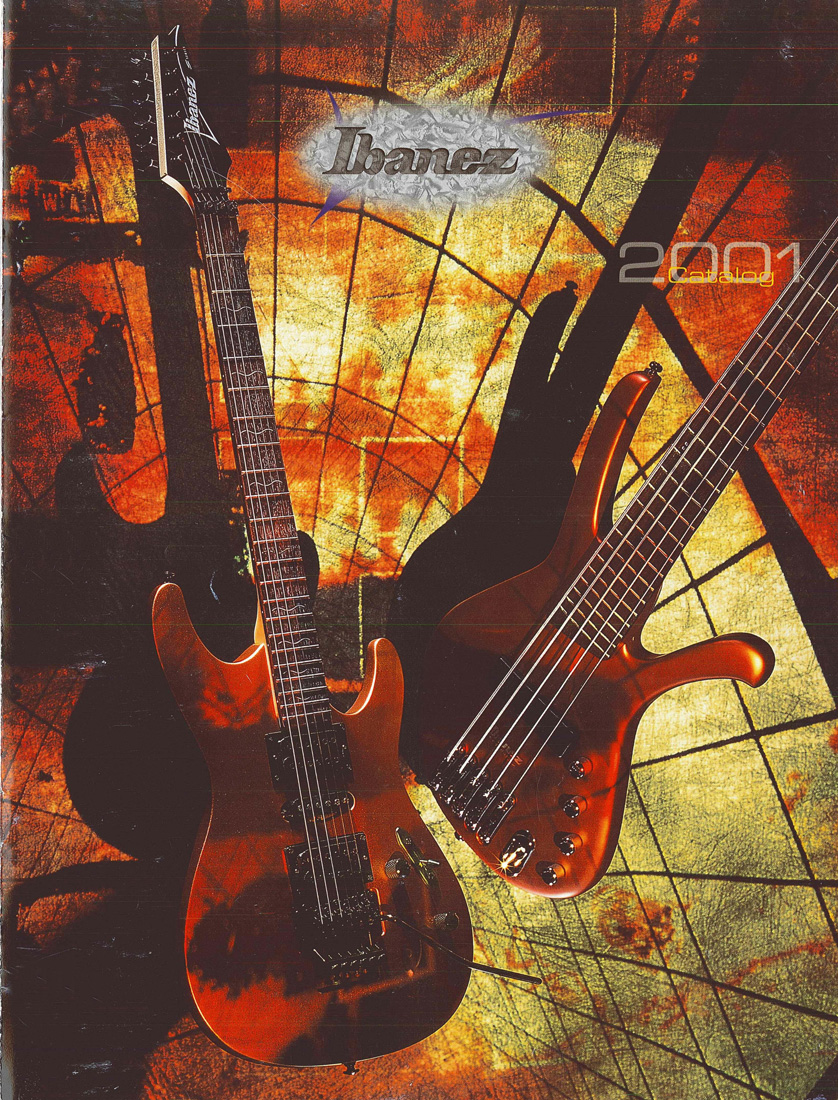 2001 Electric Guitar Catalog for USA