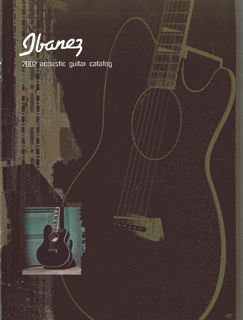 2002 Acoustic Guitar Catalog for USA