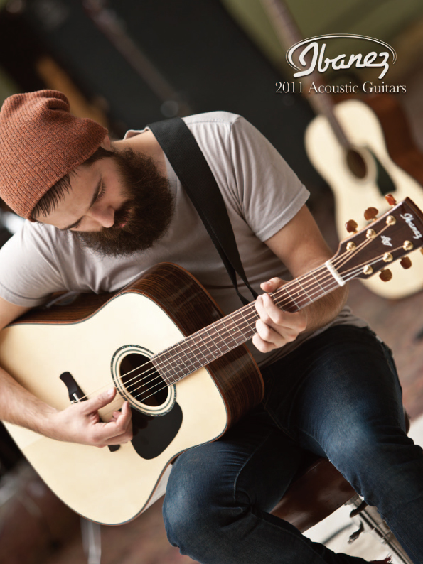 2011 Acoustic Guitar Catalog for USA