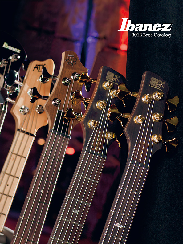 2012 Electric Bass Catalog for USA